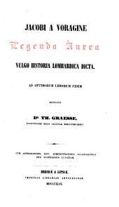 Legenda aurea: vulgo historia lombardica dicta