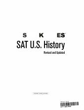 Sparknotes SAT II U S  History PDF
