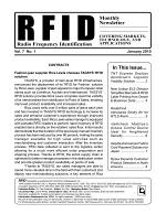 RFID Monthly Newsletter January 2010