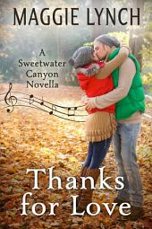 Thanks for Love: A Thanksgiving Novella