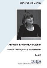 Anreden  Erwidern  Verstehen PDF