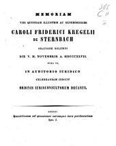 Quaestiones ad sponsiones earumque iura pertinentes: Spec. 1-2, Volume 1