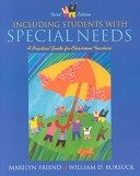Including Students With Special Needs Book PDF