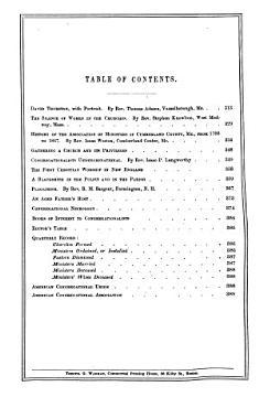 The Congregational Quarterly PDF