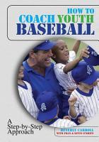 How to Coach Youth Baseball PDF