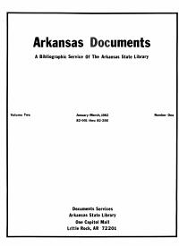 Arkansas Documents
