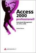 Access 2000 professionell PDF