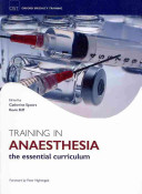 Training In Anaesthesia PDF