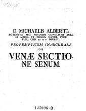De venae sectione senum