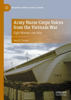 Army Nurse Corps Voices from the Vietnam War PDF