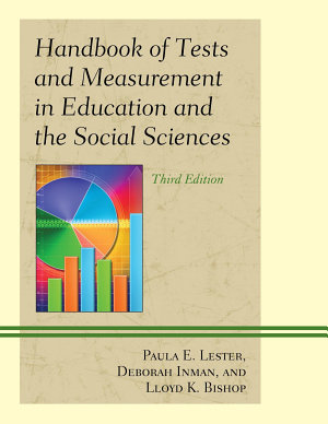 Handbook of Tests and Measurement in Education and the Social Sciences PDF