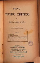 Nuevo teatro crítico de Emilia Pardo Bazán