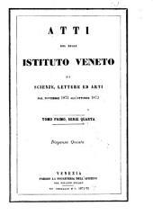 Atti del Regio Istituto Veneto di Scienze, Lettere ed Arti Reale Istituto Veneto di Scienze, Lettere ed Arti