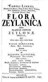 Car. Linnaei Flora Zeylanica