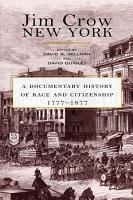 Jim Crow New York PDF