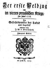 Der erste Feldzug im vierten preussischen Kriege: Band 2