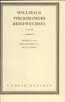 Willibald Pirckheimers Briefwechsel PDF