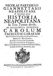 Historia Neapolitana: Volume 1