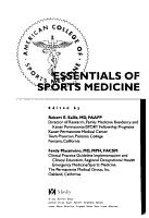 Essentials of Sports Medicine PDF