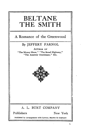 Beltane the Smith PDF