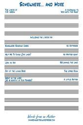 Somewhere... and More: The Lyrics of J.M. Hardin