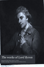 Poetical Works of Lord Byron: The prisoner of Chillon. Poems of July-September 1816. Monody on the death of R.B. Sheridan. Manfred. The lament of Tasso. Beppo. Ode on Venice. Mazeppa. Prophecy of Dante. Morgante maggiore of Pulci. Francesca of Rimini. Marino Faliero. The vision of judgment. Poems, 1816-1823. The blues