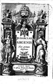 Argenis: Nunc primum illustrata