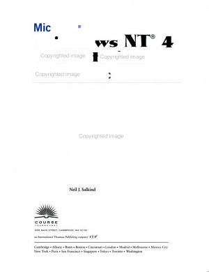 Microsoft Windows NT 4 Workstation