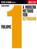 A Modern Method For Keyboard Book PDF