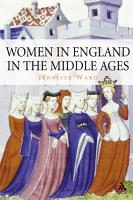 Women in England in the Middle Ages PDF