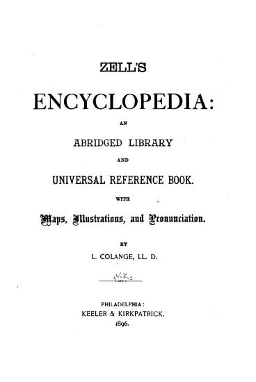 Zell s Encyclopedia PDF