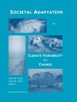 Societal Adaptation to Climate Variability and Change PDF
