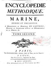 Encyclopédie méthodique: Marine ...