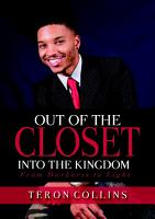 Out of the Closet Into the Kingdom  From Darkness to Light PDF