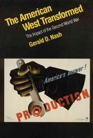 The American West Transformed PDF
