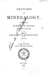 Catalogue of Minerals, with Their Formulae and Crystalline Systems: Prepared for the Use of the Students of the School of Mines, of Columbia College