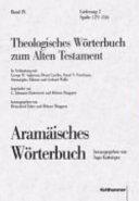 Theologisches W  rterbuch zum alten Testament PDF