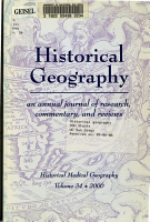 Historical Geography PDF