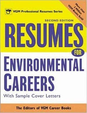 Resumes for Environmental Careers PDF
