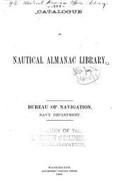 Catalogue of Nautical Almanac Library