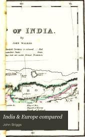 India & Europe compared