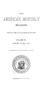 Daughters of the American Revolution Magazine: Volume 4