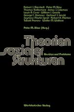Theorien sozialer Strukturen PDF