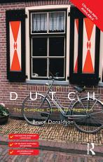 Colloquial Dutch  eBook And MP3 Pack  PDF