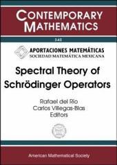 Spectral Theory of Schrödinger Operators