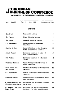 The Indian Journal of Commerce PDF