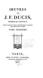Épitres. Poésies diverses. Correspondance de M. Thomas avec Ducis