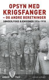 Opsyn med krigsfanger - og andre beretninger: Bind 25