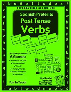 Spanish Preterite Past Tense Verbs Book