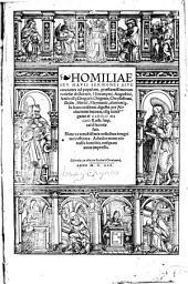 Homiliae